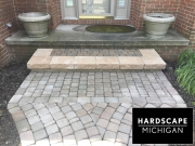 harrison-twp-mi-brick-paver-repair-front-brick-paver-step-after
