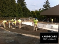 Commercial Hardscape Inground Pool Deck Installation - Troy, Michigan