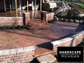 Residential Brick Paver Patio & Retaining Walls - Bruce Township, Michigan