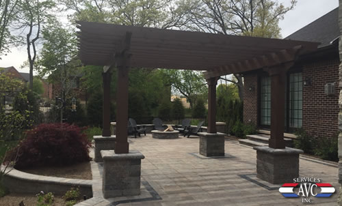 Outdoor Living Space - AVC Services, Inc. - Hardscape Michigan