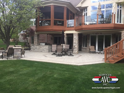 4 Tips for Designing a Brick Paver Patio in Lake Orion - AVC Hardscape Michigan