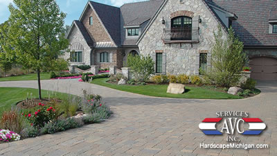 4 Reasons Why Franklin Residents Love Brick Paved Driveways - AVC Hardscape Michigan