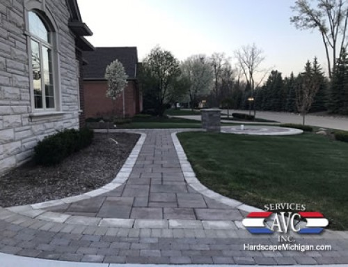 Clinton Twp., MI:  Why Brick Paver Walkways Are the Best Place to Start for Hardscapes
