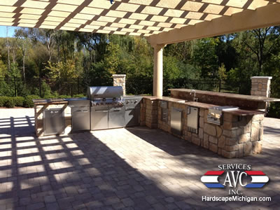 Rochester Hills Outdoor Living Space