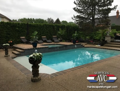 Gunite Pool and Brick Paver Sun Deck – The Perfect Combination in Clinton Twp.