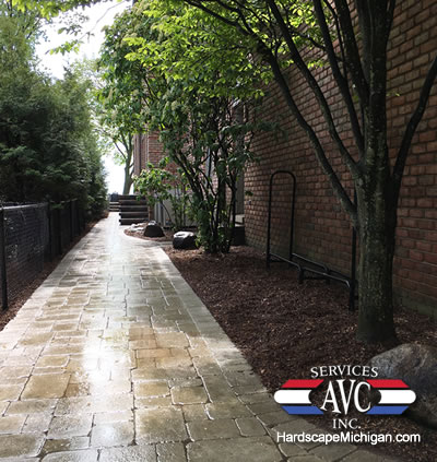 Grosse Pointe Shores, MI: 4 Practical Reasons to Get a Brick Paver Walkway - AVC Hardscape Michigan