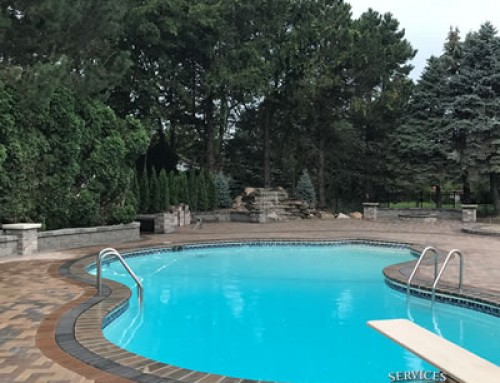 Creating the Perfect Poolside Party Area in Clinton Township